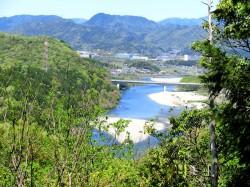 長良川展望地